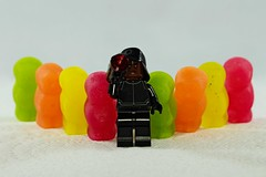 IMG_7951 (LezFoto) Tags: macro fun sweets candy sweet jellybabies starwars firstorder technician lego minifigs minifigures canon eos 700d ef100mm f28l colourful