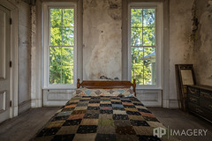 Holt House Bedroom (AP Imagery) Tags: joseph community historic historical abandoned hardinsburg judge ky holt house kentucky days bed usa
