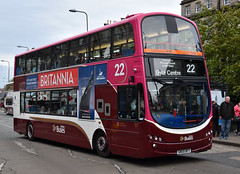 Lothian Buses 337: SN59BFY (Cobalt271) Tags: lothian buses 337 sn59bfy volvo b9tl wright eclipse gemini 2 22 branded madder livery