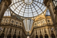 Galleria Vittorio Emanuele II Milan (John Maloney FSA Scot) Tags: italy milan europe architecture