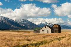 Autumn Tetons 2016 #10 (greggohanian) Tags: grandtetons mormonrow barn mountains autumn