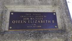 Deas Island Tunnel Plaque 1 (Bad Biker Benny) Tags: deas island tunnel her majesty queen elizabeth second 2nd ii 15 july 1959
