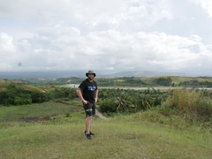 Ontop of Edsons ridge, Guadalcanal!