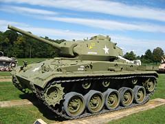 M24 Chaffee (Photo Squirrel) Tags: usarmyordnancemuseum aberdeenmaryland aberdeenprovingground museum military armoredvehicle armor tank lighttank m24chafee chafee