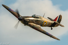 Hawker Hurricane - Old Warden 'Roaring 20's' Season Finale Airshow 2016 (harrison-green) Tags: old warden shuttleworth collection air show airshow 2016 edwardian pageant aircraft aviation world war 2 two ii display shgp steven harrisongreen photography canon eos 700d sigma 150500mm 18250mm de havilland comet racer plane race grosvenor house outdoor vehicle airplane sunset roaring 20s twenties finale flower plant mew gull replica sport hawker hurricane fight battle britain autogyro auto gyro