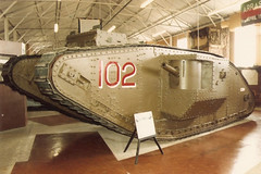 Mark IV Male Bovingon Tank Museum 1989 (Richard.Crockett 64) Tags: mkiv male tank excellent hmsexcellent gunneryschool crewtraining homeguard armouredfightingvehicle militaryvehicle britisharmy ww1 worldwarone thegreatwar ww2 worldwartwo bovingtontankmuseum bovington dorset 1989