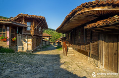 A small village in Bulgaria (Andrey Andreev) Tags: zheravna bulgaria mountains balkans planina staraplanina      village