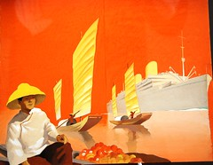 Trieste - On a Not So Slow Boat to China on the Lloyd Triestino's 'Victoria' (antonychammond) Tags: trieste adriatic shippingline motorshipvictoria austriahungary italy advertisingposter colorfullaward colorsinourworld visualart saariysqualitypictures vividstriking