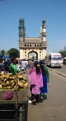 Trading at Charminar bazaar