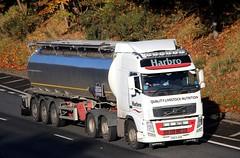 VOLVO FH - HARBRO (scotrailm 63A) Tags: lorries trucks tankers