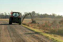 Mowing the Ditch-2078.jpg (Mully410 * Images) Tags: burnettcounty mowing ditch johndeere crexmeadows crexmeadowsstatewildlifearea tractor road mower wisconsin