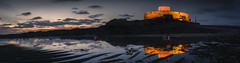 Fort Grey Low Tide (scott.hammond34) Tags: fortgrey bluehour reflection reflections pano panoramic seascape architecture dusk coastal