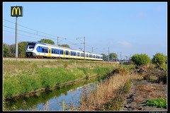 NSR-2613_Ssh_22102016 (Dennis Koster) Tags: ns nsr trein personentrein passagierstrein sassenheim slt 2613