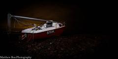 Night boat (boamatthew) Tags: 1116mm uk boat d7000 f28 lancashire landscape night nikon pollution sea tokina wideangle