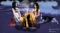 (Linayum) Tags: sims sims2 simmer thesims thesims2 lossims2 game juego virtual virtuallife ts2 ts2pictures friends beach playa mysims linayum