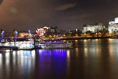 Thames, Lights and Reflections (rq uk) Tags: rquk nikon d750 london night longexposure southbank southbankcentre lights nikond750 afsnikkor1835mmf3545ged river riverthames reflections