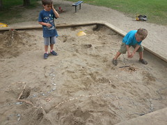 20160908_165714 (plussed) Tags: people person nate luke sandbox tinytown building play multishot urbanplanning
