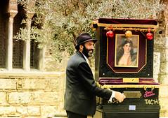 The Barrel Organ Player (Gianna Fou.) Tags: flickrfriday christmasmarket barrelorgan man athens christmas