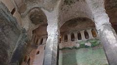 DSCF0032 glise monolithe d'Aubeterre-sur-Dronne (Charente) (Thomas The Baguette) Tags: aubeterresurdronne charente france monolith cave church tympanum glise glisenotredame saintjacques caminodesantiago sexyguy chateau cloister minimes mithra mithras cult