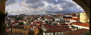 Stunning city-wide views from the University of Coimbra