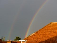 Double (CORMA) Tags: belgique belgium bruxelles brussels 2016 ganshoren arcenciel rainbow arcobaleno double raddoppio