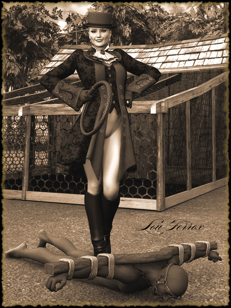 Femdom whipping turns