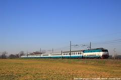 E444.098 (Davuz95) Tags: e444 intercity ic trenitalia pax passeggeri ferrovie dello stato milano genova ventimiglia
