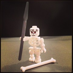 Skeleton warrior (Gianluca Ermanno (aka Vygotskij)) Tags: instagramapp square squareformat iphoneography uploaded:by=instagram mayfair lego legostagram legominifigures toys giocattoli giochi iphone
