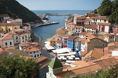 Village of Cudillero (Aaron's Aperture) Tags: cudillero asturias spain town ocean cove pacific