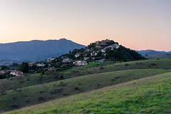 Houses on the Hill (Matt McLean) Tags: bayarea california house landscape marin sunset tamalpais tiburon belvederetiburon unitedstates us