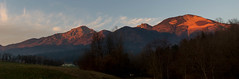 Zaplata (Vidar Karlsen) Tags: europe gorenjska preddvor slovenia slovenija uppercarniola autumn clouds mountain sky sunset