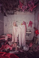 pink nightmare (Desolate Places) Tags: abandoned mansion