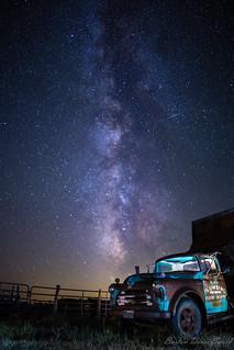 Dump Truck Full of Milky Way