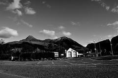 back again (Fearghl Nessbank) Tags: nikon d5100 tokina scotland glencoe villageofglencoe bw blackwhite mono monochrome westhighlands highlands