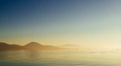 Let it be...Gold (Jethro_aqualung) Tags: outdoor lago lake trasimeno barca boat gold italy italia umbria sky sunset tramonto d3100 nikon
