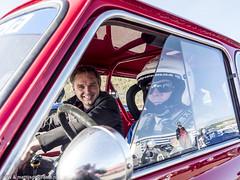 2016 Historic Zandvoort Trophy: Jonathan Lewis & Ren de Vries (8w6thgear) Tags: 2016 historiczandvoorttrophy zandvoort mini coopers touringcar portrait racingdriver jonathanlewis rendevries paddock nkhtgt