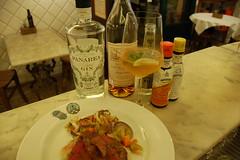 gin panarea armagnac e angostura (burde73) Tags: cocktaildinner lucapicchi burde miscelato ricetta recipe armagnac cassis champagne gin panarea sagna mixology