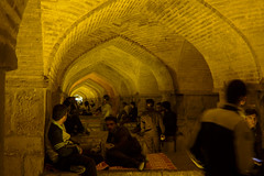 iran_007 (muddycyclist) Tags: panasonic lumix lx7 iran isfahan esfahan bridge night
