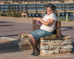_MG_0753 (Elliot Sampford) Tags: people peopleinlife spain streetphotography lopagan knitting promenade relaxing