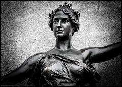 With Open Arms (Dan Dewan) Tags: stilllife lady dandewan ottawa november art canonef70200mm14lisusm © parliamenthill photographist ontario canon7dmarkii 2016 bw canon blackwhite