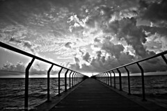 ( C ) Way without end (aRtphotojart) Tags: puente camino nubes hdr