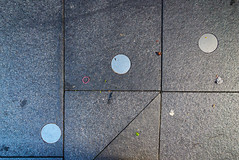 Pavement collection. (bfh) Tags: sydney nsw lookingdown