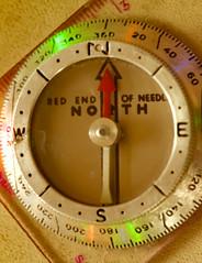 Arrow~ Macro Monday (Karen McQuilkin) Tags: macromondays macro compass direction magnet north east west hmm karen mcqilkin closeup compassdirection search tool survive arrow truenorth