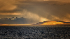 Tibet, golden Namtso lake (jackson.24@hotmail.fr) Tags: tibet namtso magic lake gold