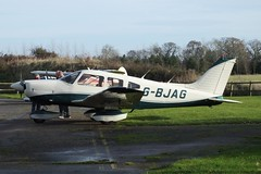 Piper PA-28-181 Cherokee Archer II G-BJAG (Old Buck Shots) Tags: keith sowter egsv