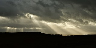 Stormy skies over Housesteads, Northumberland