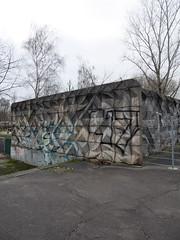 Die Wand. / 15.12.2016 (ben.kaden) Tags: berlin lichtenberg ellivoigtstrase strukturwand formsteinwand formstein architekturderddr architektur 2016 15122016