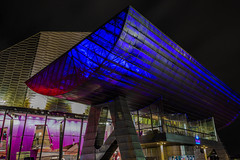 Salford Quays (graemecave) Tags: night shoot salford quays docks water canon5dmk111 24105l colours