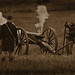 Union Artillery firing