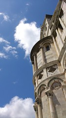 Pisa and its sky (Paola R. Ledda) Tags: city blue italy cloud white architecture cathedral pisa tuscany